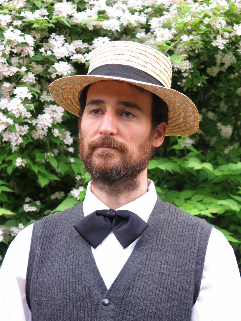 Brent Ranalli as Henry David Thoreau