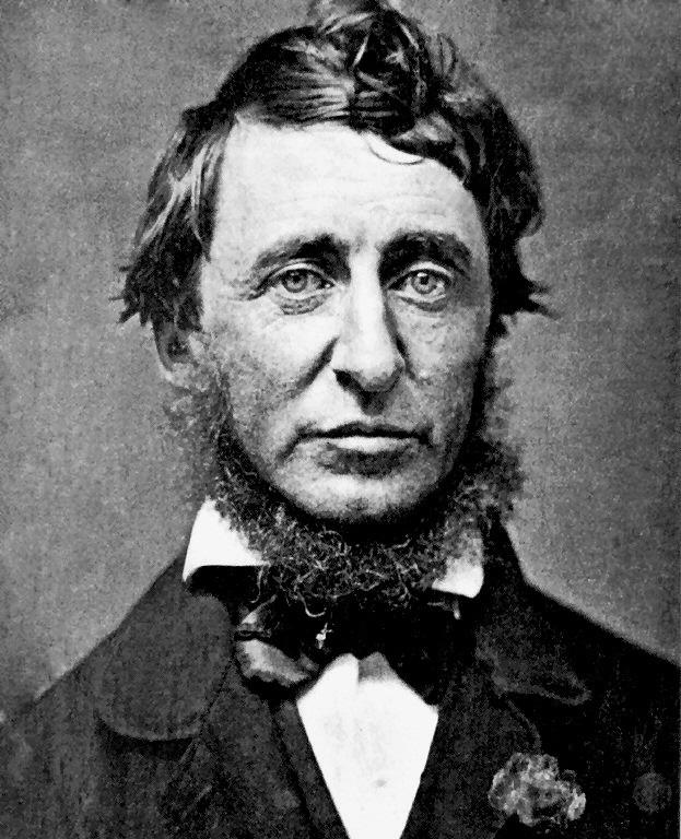 Thoreau in 1856